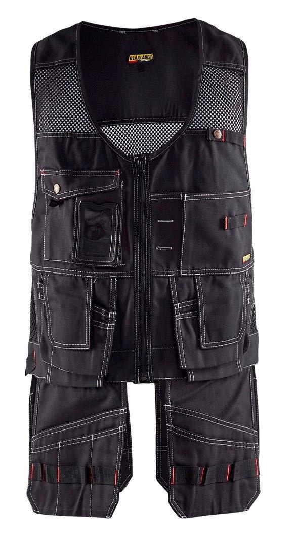 Blaklader 310013809900M Craftman Vest, Size M, Black