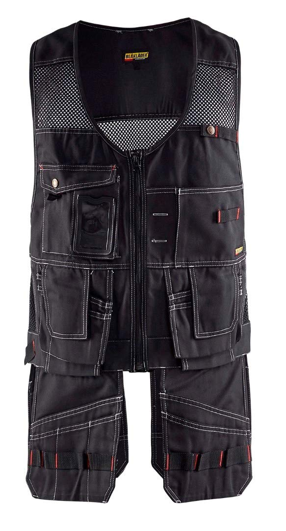 Blaklader 310013809900M Craftman Vest, Size M, Black by Blaklader (Image #1)