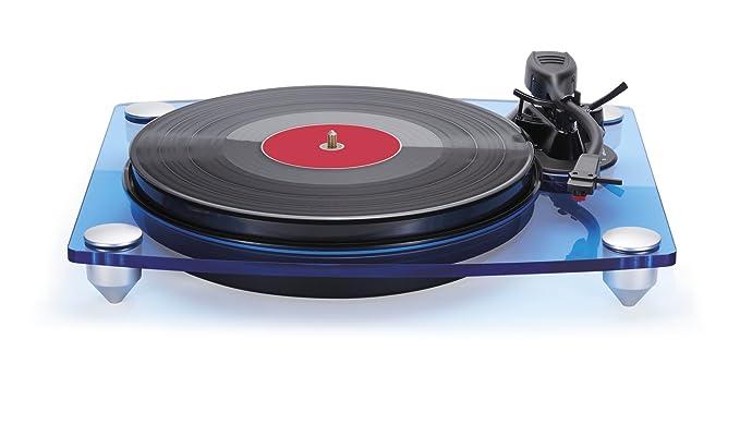 Bigben Interactive TD115BLSPS Azul, Transparente tocadisco ...