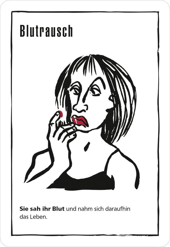 Moses. Verlag 90073 Black Stories Sebastian fitzek Edition – El Juego, 50 Cuervo Negra rätsel Reich del Curso de Thriller de Autor, El Krimi Juego de Cartas, Multicolor: Amazon.es: Juguetes y juegos