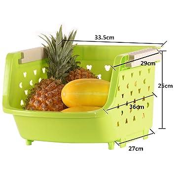 Amazon De Multifunktions Kuchenregal Lagerregal Kuche Regale Obst