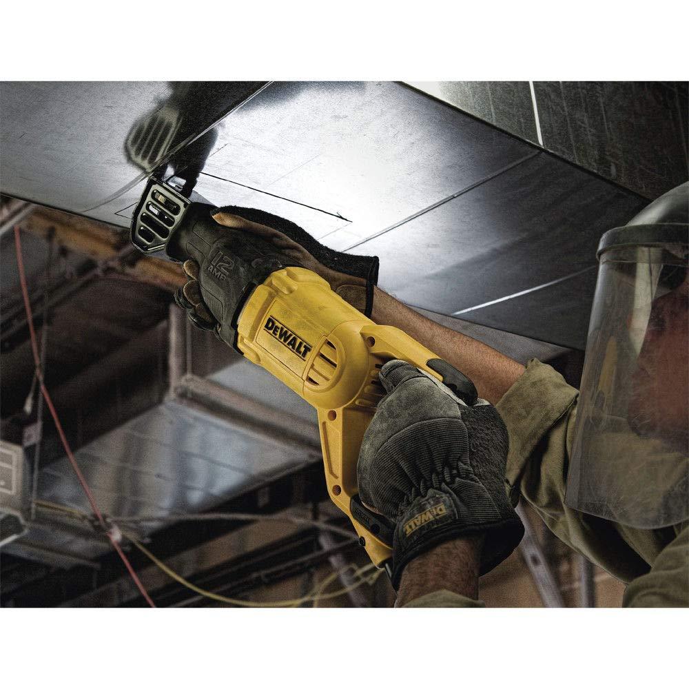 Dewalt 12a Corded Reciprocating Saw (DWE305) - (Certified Refurbished) by DEWALT (Image #8)