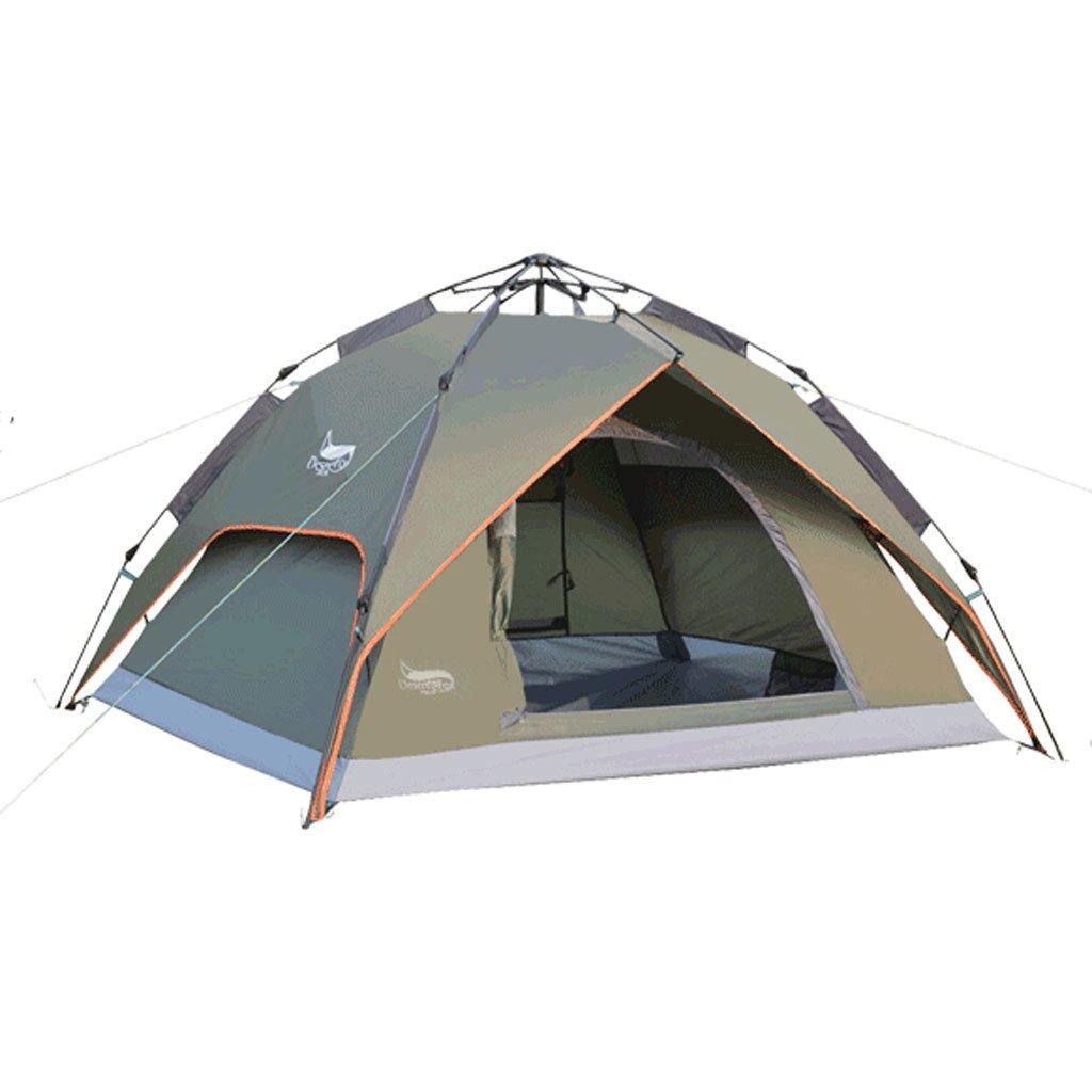 3-4 Personen im Freien Zelt Zelt automatische Dual Luftverteidigung Regensturm Zelt Multiplayer-Camping