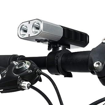 ... Lumen Fahrradbeleuchtung Fahrrad Scheinwerfer Vorne Lampe Mountainbike  Licht Radfahren Licht Led Fahrrad Licht Wasserdicht IP65: Amazon.de:  Beleuchtung