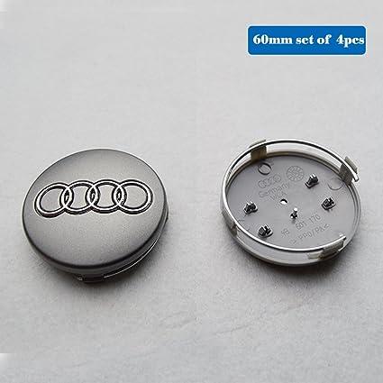 Amazoncom Hanway 4 Pcs 236 4b601170 Audi Wheel Center Emblem