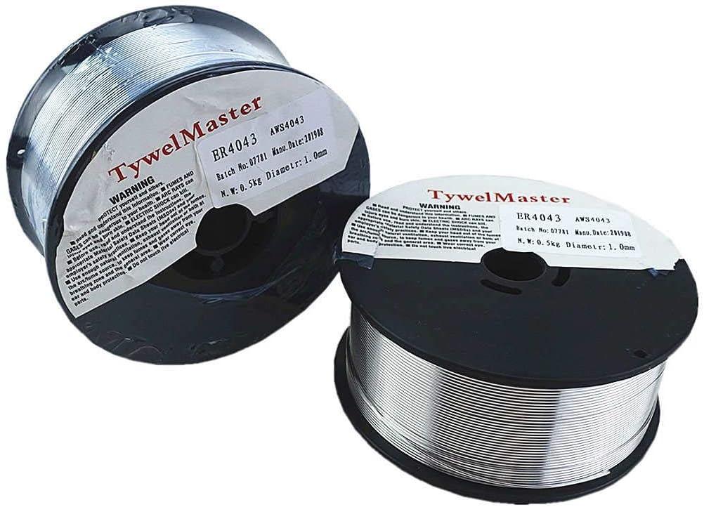 Alambre de soldadura MIG de aluminio para soldadura TIG MIG 0,5 kg de di/ámetro, 0,8//1,0//1,2 mm AWS A5.10 ER5356