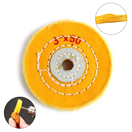 Marvelous Amazon Com 3 Inch Cloth Buffing Polishing Wheel With 2 5 Onthecornerstone Fun Painted Chair Ideas Images Onthecornerstoneorg