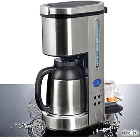meloo Cafetera Eléctrica térmica de cafetera con termo (temporizador de 24 h, jarra térmica acero inoxidable: Amazon.es: Hogar