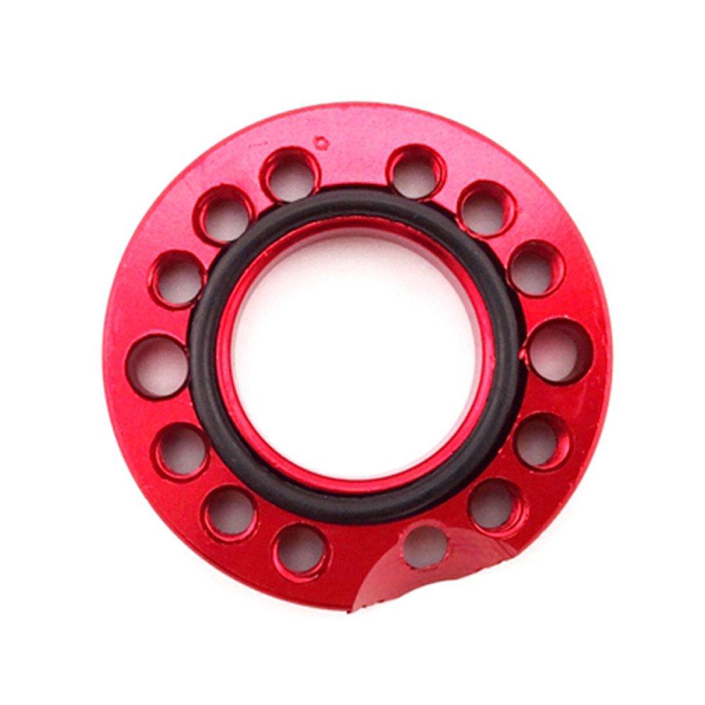 Stoneder Rouge en aluminium CNC 28/mm Carburateur darriv/ée deau dadmission de r/églage Spinner plaque Adadpter pour 110/CC 125/CC Pit Dirt bike Singe Dax ATV Quad