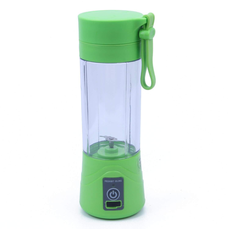 Juicer de carga USB de 380 ml taza embotellada, jugo licuadora de ...