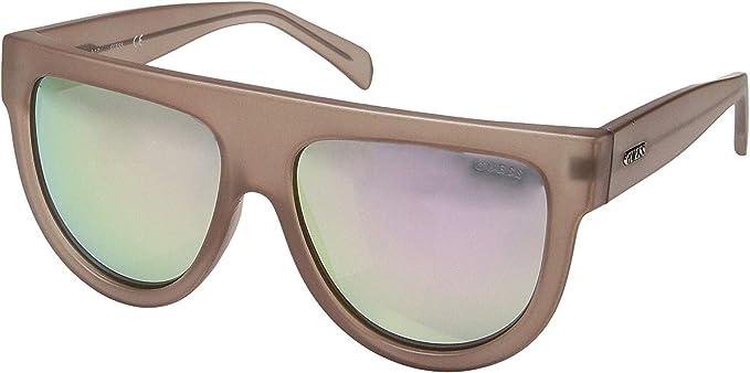 Guess GF6042-5846U Gafas de Sol, Marrón, 57 para Mujer ...