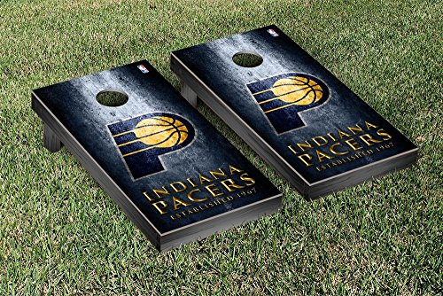 Indiana Pacers NBA Regulation Cornhole Game Set Museum Version by Victory Tailgate