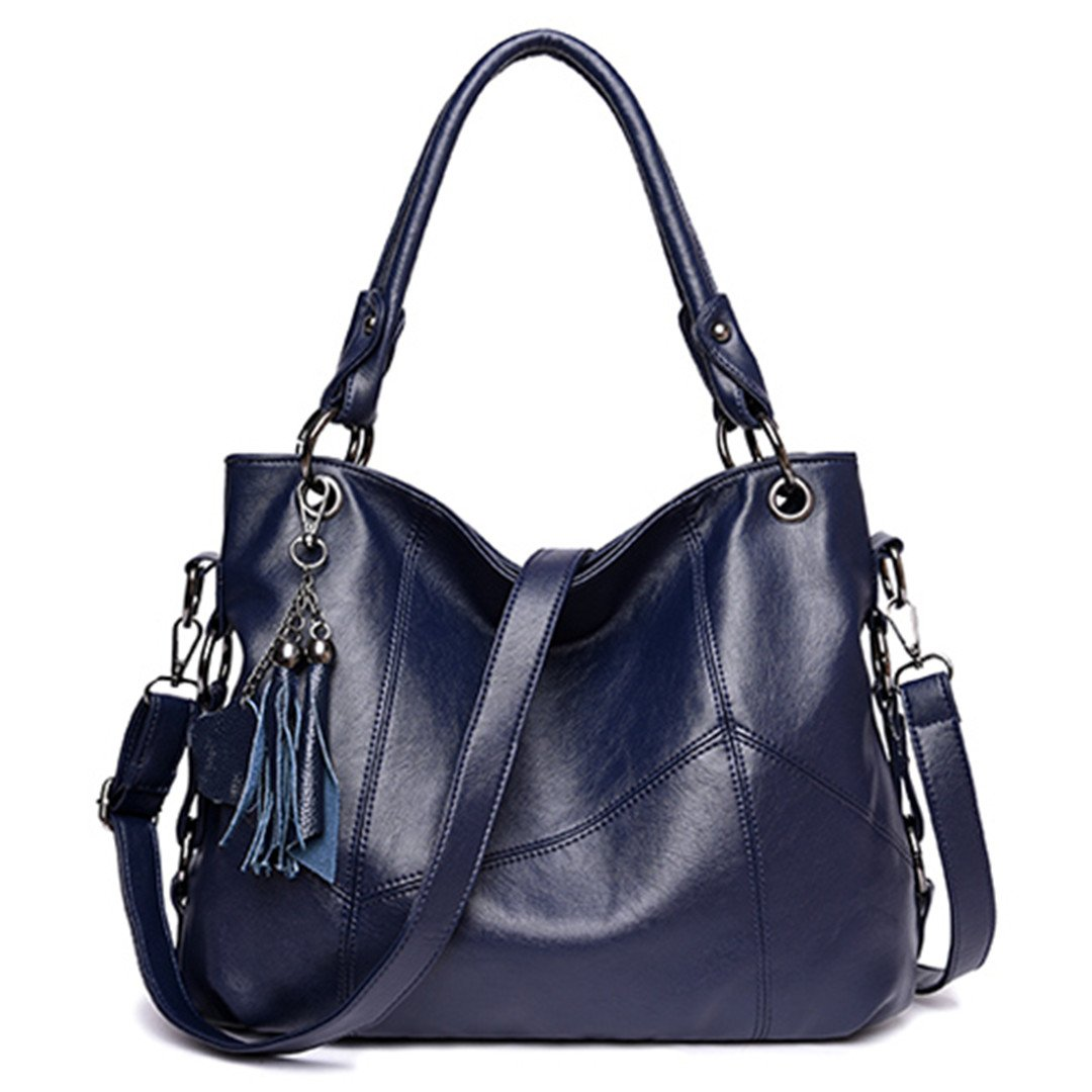 Frauen Leder Messenger Bags Designer Umhängetasche Tote Schultertasche Schultertasche Schultertasche Blau B07PNJ5Y8B Umhngetaschen Feinbearbeitung cdc4b1
