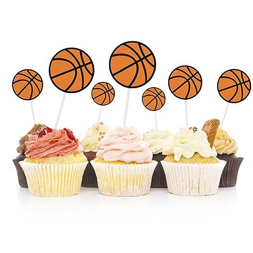 HZOnline - Decoración para tartas de baloncesto (30 piezas ...