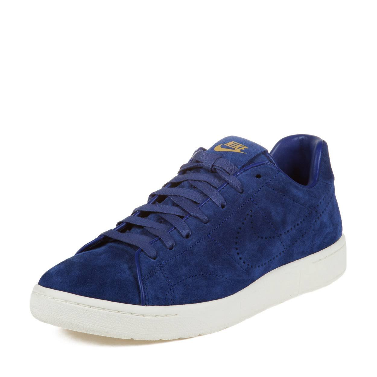 official photos ed29d 19ce9 Amazon.com   Nike Mens Tennis Classic PDM SP Deep Royal Blue Metallic Gold  Suede Athletic Sneakers Size 10   Running
