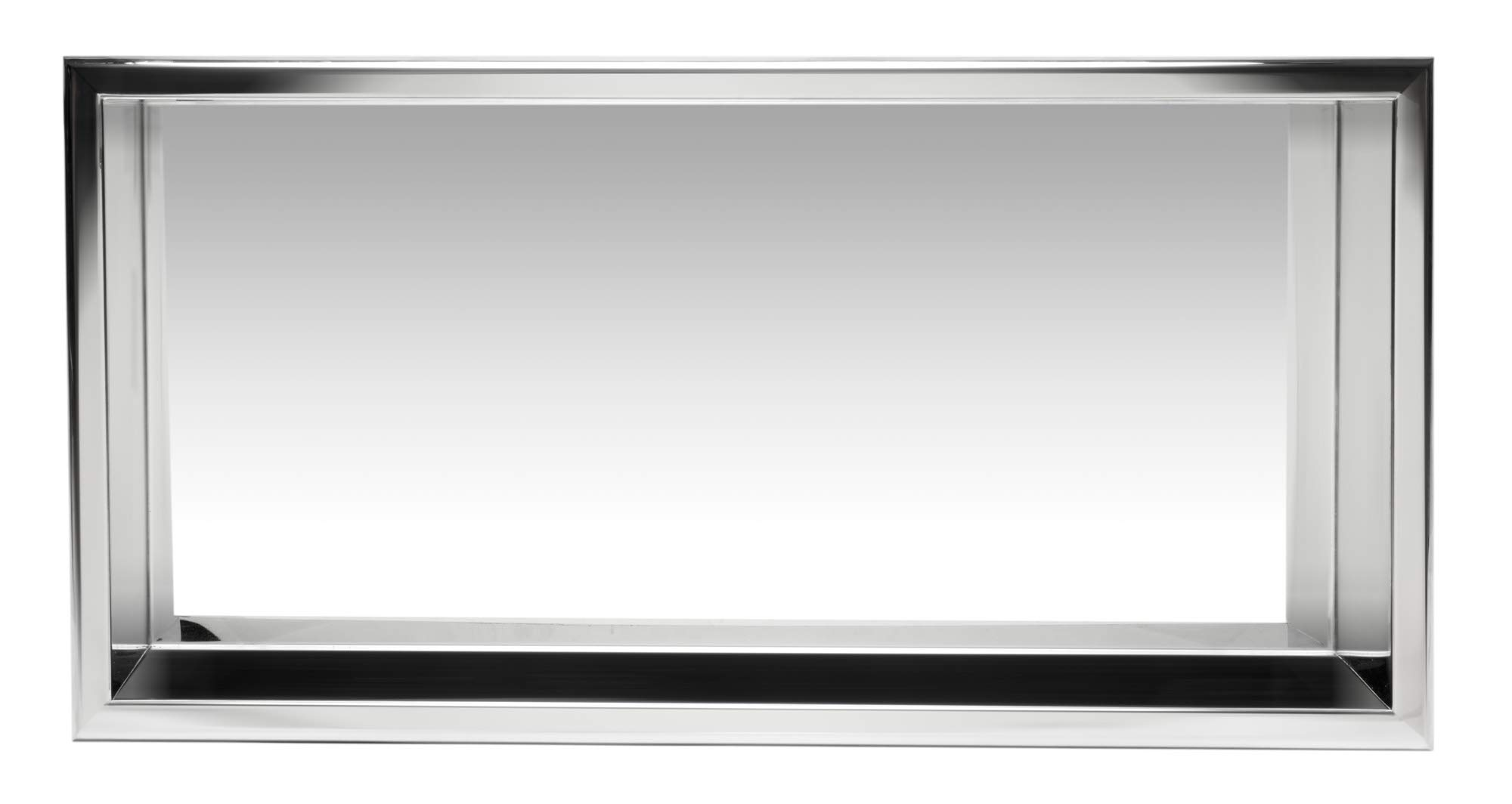 ALFI brand ABN2412-PSS Shower Niche, Polished Stainless Steel by Alfi (Image #2)