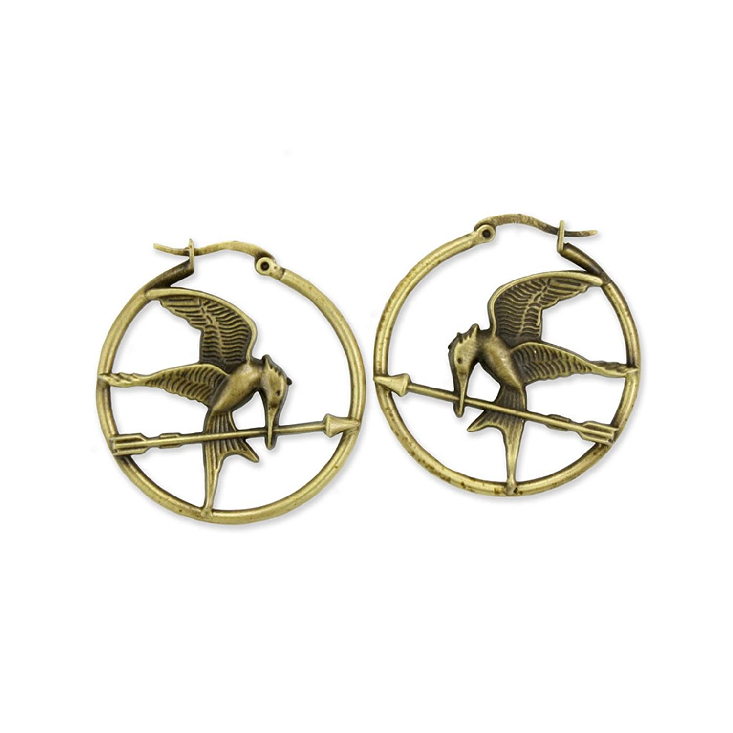 Amazon: The Hunger Games Movie Earrings Hoop