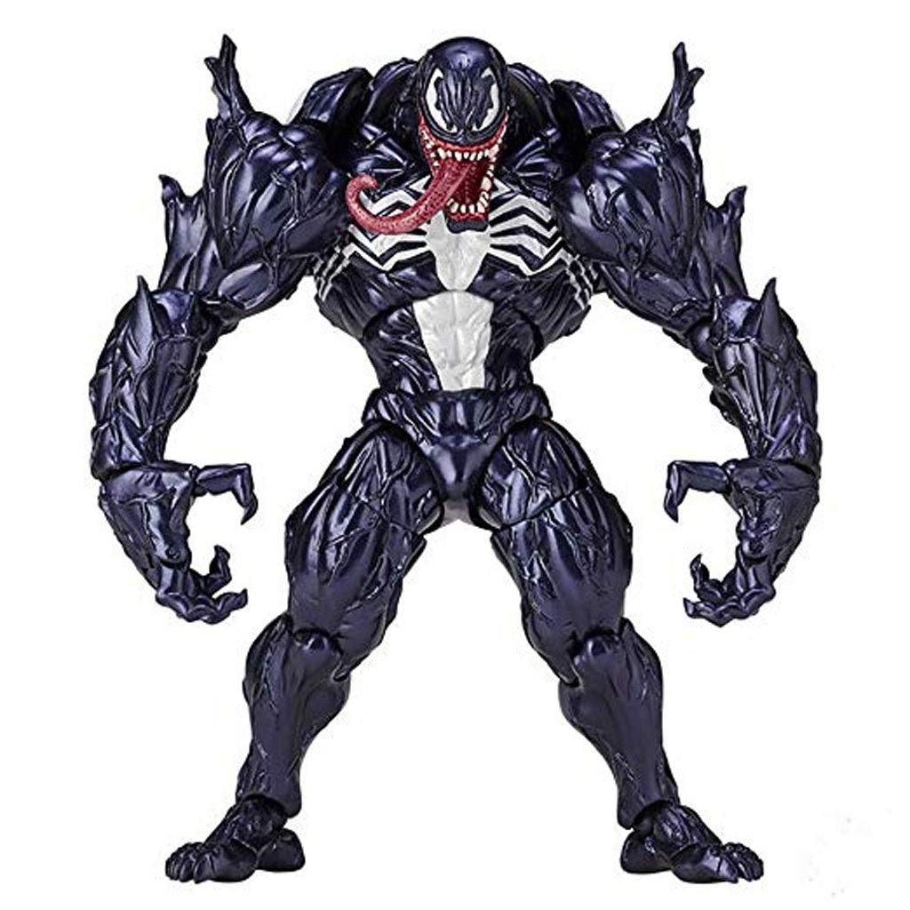 LLDDP Anime Model Spiderman Venom Detachable Decorative Doll Anime Model Series Children's Toys Gift 18 cm