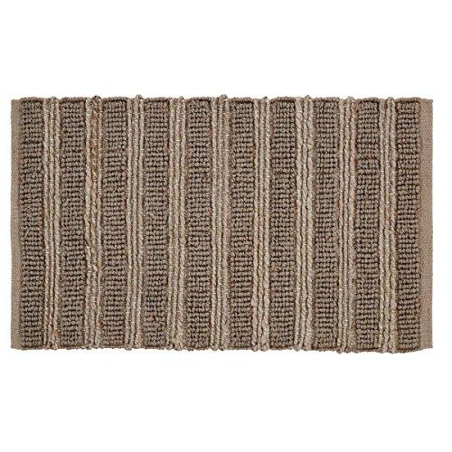 VHC Brands 28982 Laila Jute Curtain Panel, 1'8