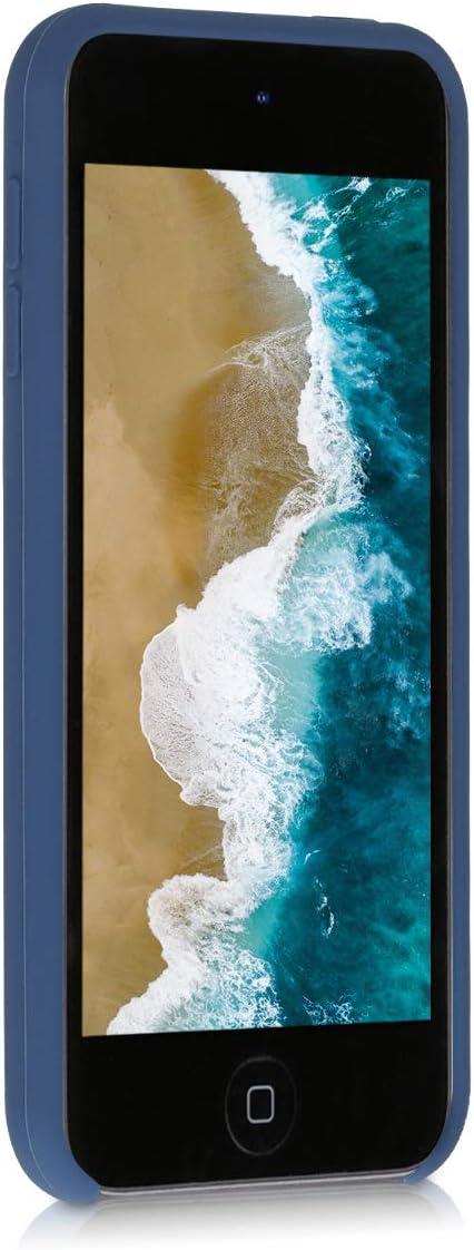 - Carcasa Protectora de Silicona kwmobile Funda Compatible con Apple iPod Touch 6G // 7G 6a y 7a generaci/ón Case Trasero en Azul Verdoso