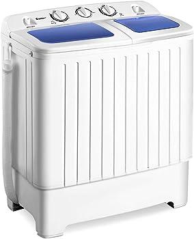 Giantex Portable Mini Washing Machine, 17.6lbs
