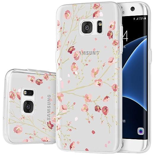 14 opinioni per Custodia Galaxy S7 Edge , ivencase Cover Silicone Trasparente TPU Flessibile