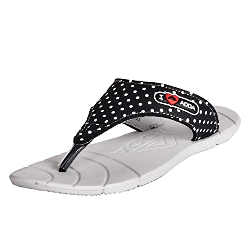 97662fe3a190fc Adda Women s Light Grey and Black EVA Slippers (Awsome)  Buy Online at Low  Prices in India - Amazon.in
