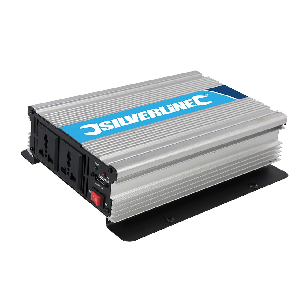 Silverline Inverter 1000W: Amazon.co.uk: DIY & Tools