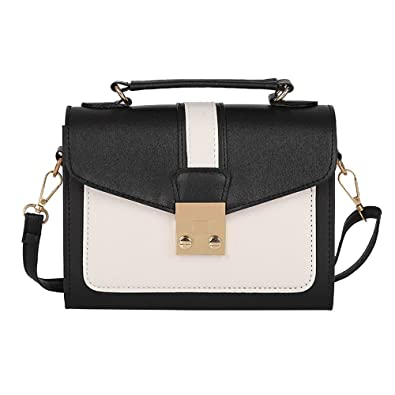2e5f64a0eb5 Image Unavailable. Image not available for. Color: TEARWIN Women Leather  Tassel Shoulder Bags Fashion able Bag Vintage Handbag Small Mini Messenger