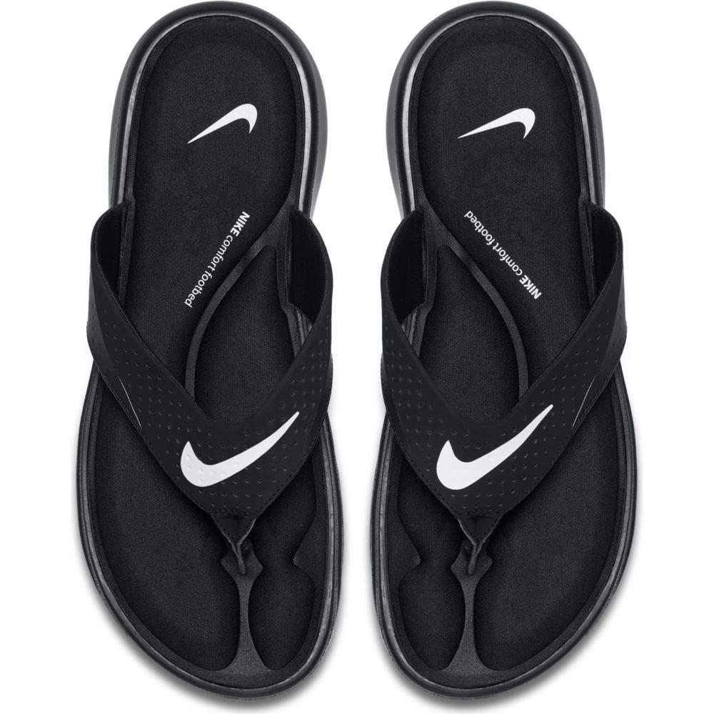 fca06358e070c Nike mens ultra comfort thong flip flops sandals jpg 1000x1000 Nike comfort  foot bed flip flops