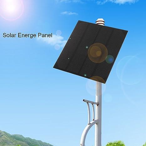 4.5W 6V Monokristallin Solarmodul Solarpanel Solarzelle Ladegerät für Handy DIY
