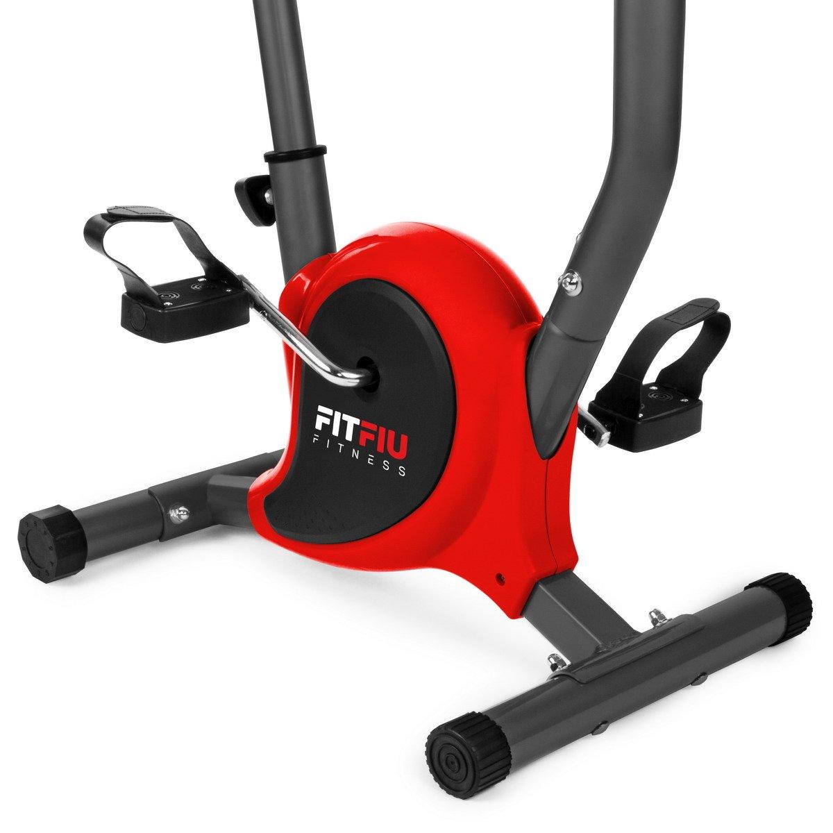 Fitfiu BEST-100 Bicicleta Estática Plegable, Rojo, S: Amazon.es: Deportes y aire libre