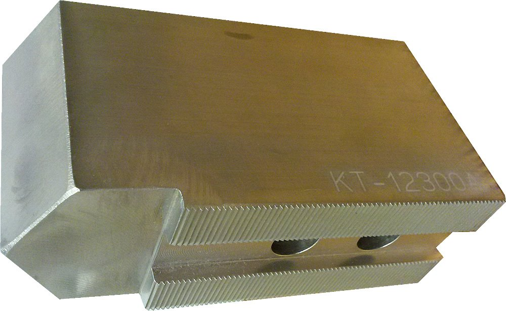 3 Tall USST KT-12300AP Alum T6061 Pointed Soft Chuck Jaws for 12 CNC Lathe Chucks Set of 3 Pieces