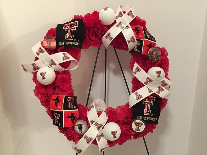 college pride spirit tt texas tech university red raiders dorm decor - Texas Tech Christmas Decorations