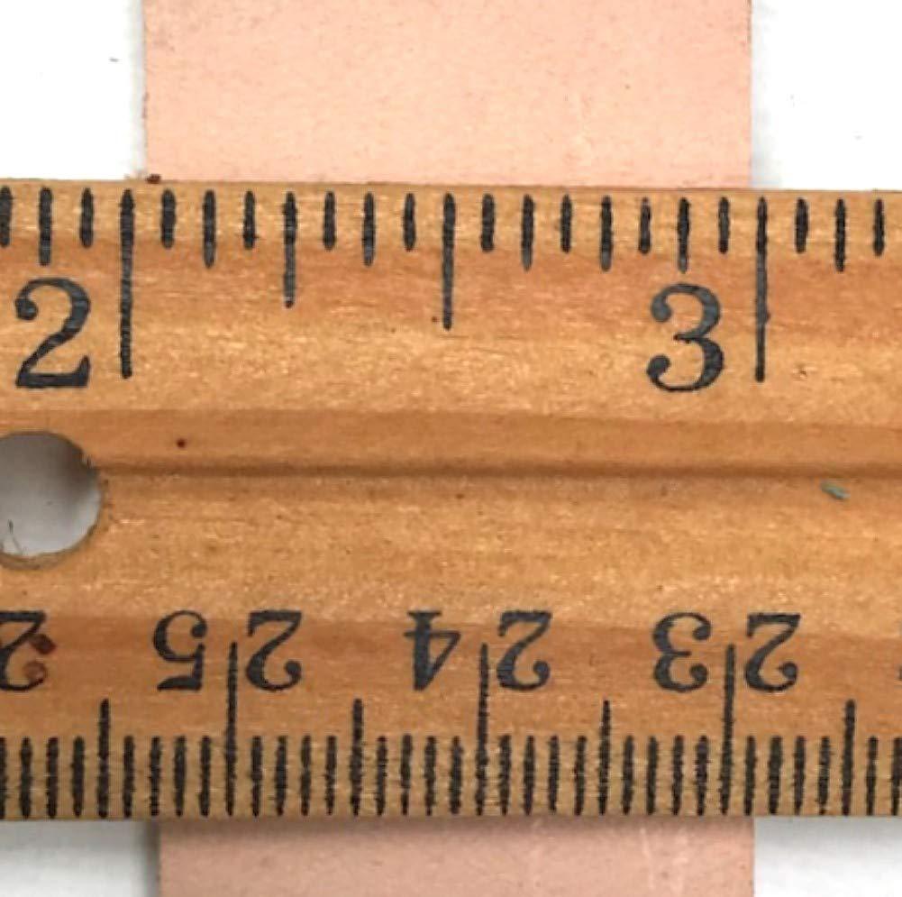 Extra Long 1 x 72 Dangerous Threads Natural Veg Tan 8//9 Ounce Leather Belt Blank Strip