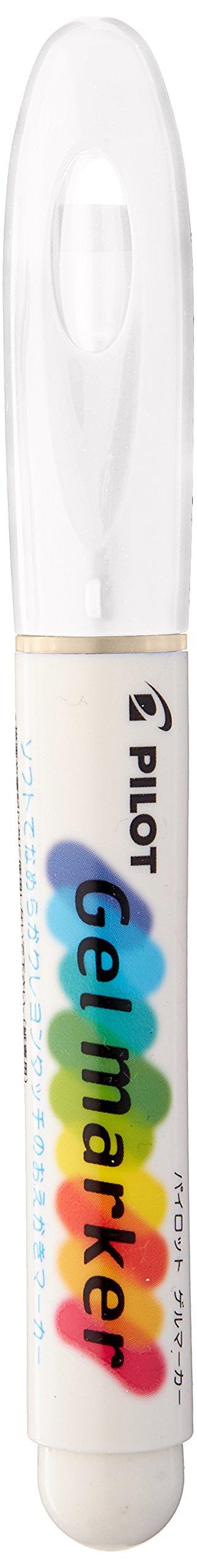 Pilot Gel Marker, No. G01, White (AW-GM8-G01)