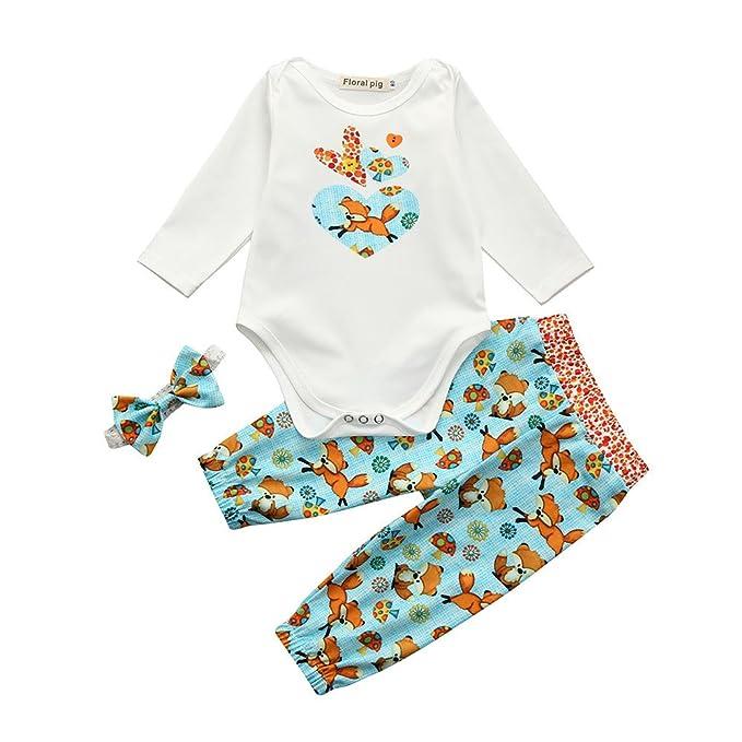 Amazon.com: Bonita ropa de invierno para bebé y niña de ...