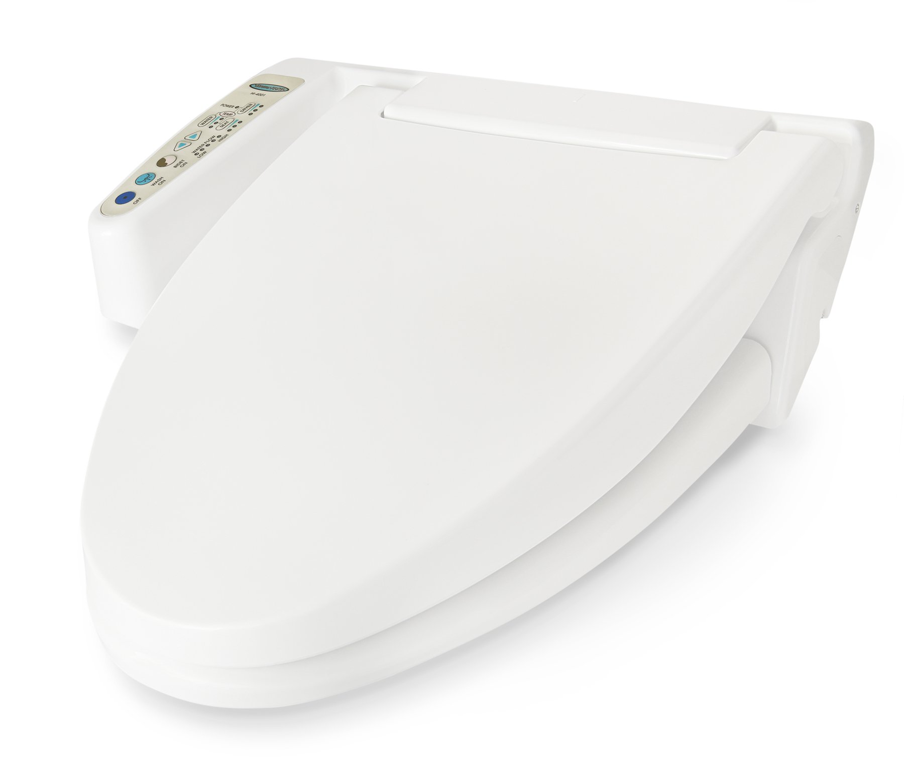 Feel Fresh HI-3001WT Elongated Basic Electric Bidet Seat (White) by Feel Fresh