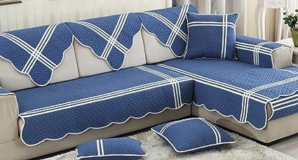 ZebraSmile 1 Piece Various Sizes 100% Cotton Sofa Towel Cover Decrotive Sofa  Cover Antiskid Sofa