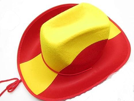 ESPAGNE Sombrero, Colores de Bandera de España: Amazon.es: Deportes y aire libre