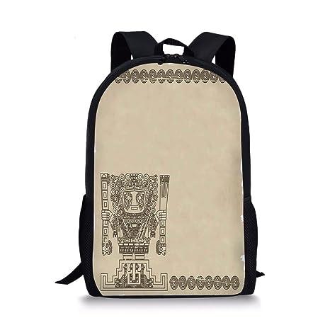 Amazon Iprint School Bags Native Americanmayan Inca Tribal
