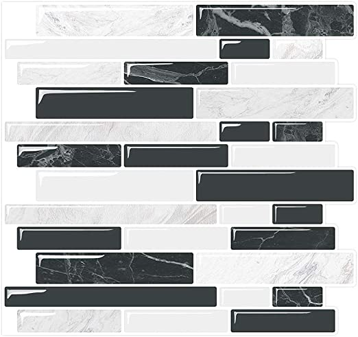 10 Sheets 10x10 Kitchen Backsplash Peel and Stick in Sandstone Yipscazo Peel and Stick Backsplash Tile for Kitchen