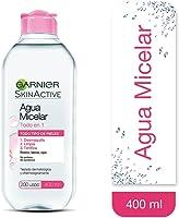 Garnier Skin Naturals Face Agua Micelar Desmaquillante para Todo Tipo de Piel, 400 ml