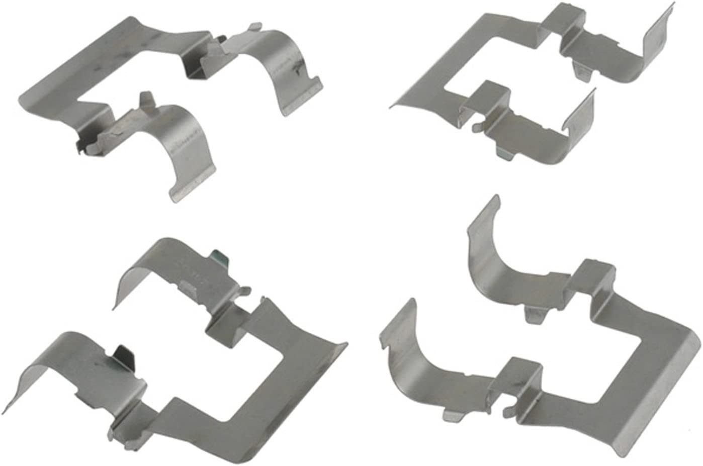 ACDelco 18K434X Professional Front Disc Brake Caliper Hardware Kit with Clips
