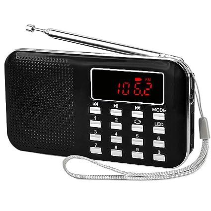 iMinker mini portátil Radio FM / AM Speaker MP3 Player Soporte TF ...