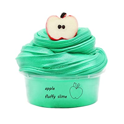 Xuways Newest DIY Slime Supplies Fruit Kit Cloud Slime Aromatherapy Pressure Children Slime Toy: Home & Kitchen