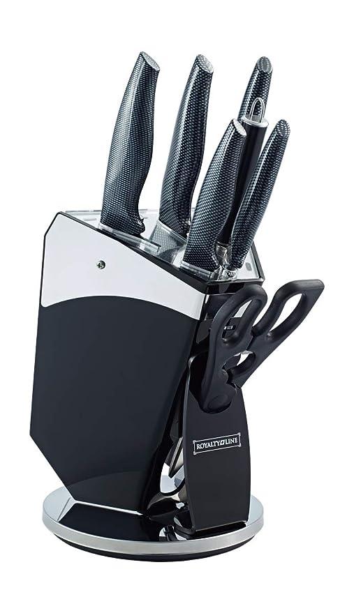 Compra Royalty Line - RL-CB8 - Juego de Cuchillos de Cocina ...