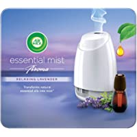Airwick Essential Mist Automatic Fragrance Mist Diffuser (Kit) – 20ml (Relaxing Lavender)