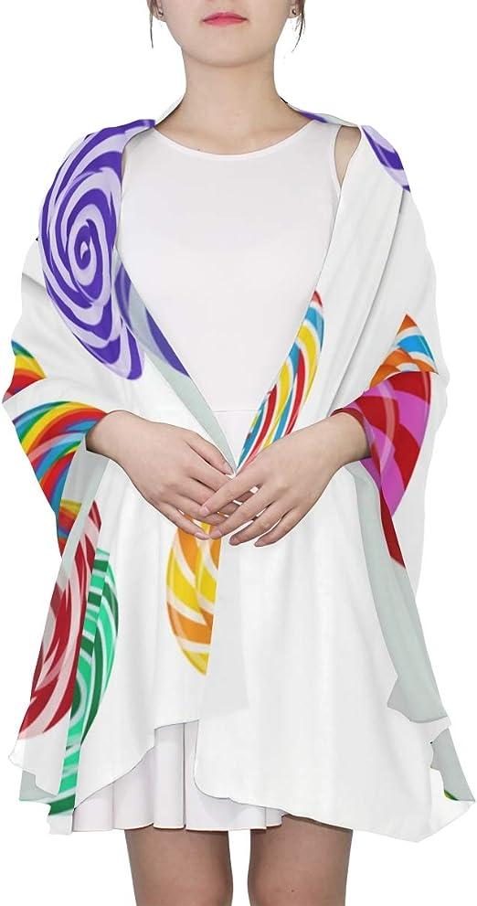 kids Scarves or Wraps Scarfs For Kids Colorful Lollipop Set Design Sweet Big Scarf Wraps Shawls  For Women Lightweight Print Scarves Wraps Shawls For Women Scarf Shawl For  Women at Amazon Men's Clothing store