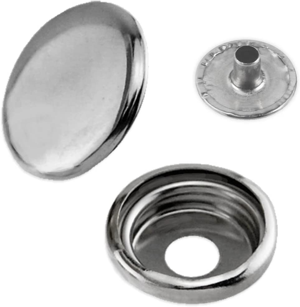 """100pc 3/8"""" Canvas Snap Fastener Button Socket Replacement Set - Boat Covers, Canopy"""